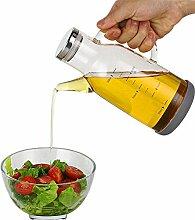 Küche Olivenöl Dispenser, Auslaufsicher Glas Öl