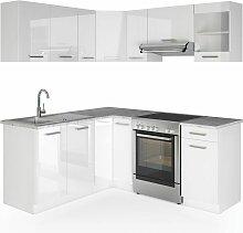 Küche Rick Küchenzeile Küchenblock Einbauküche