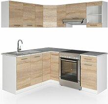 Küche Rick L-Form Küchenzeile Küchenblock