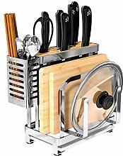 Küche Rostfreier Stahl Regal Anti-Rutsch-Fuß