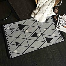 Küche Schlafzimmer Bedside Long Strips Teppich Rutschfester wasserdichter ölfester Fußpolster Teppich ( größe : 60*40*0.5cm )