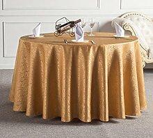 Küche Tischdecke Hotel Tischdecke Tuch Restaurant Restaurant Tischdecke Haushalt Tee Runde Runde Tisch Tischdecke Tischdecke ( größe : 300cm )