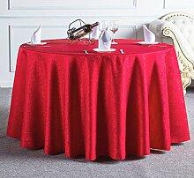 Küche Tischdecke Hotel Tischdecke Tuch Restaurant Restaurant Tischdecke Haushalt Tee Runde Runde Tisch Tischdecke Tischdecke ( größe : 320cm )