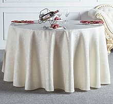 Küche Tischdecke Hotel Tischdecke Tuch Restaurant Restaurant Tischdecke Haushalt Tee Runde Runde Tisch Tischdecke Tischdecke ( größe : 380cm )