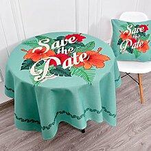 Küche Tischdecke Leinen Tischdecke, Staub Tuch Kleine runde Tisch Rechteck Tisch Tuch Abdeckung Stoff Couchtisch Tuch ( Farbe : 4# , größe : 140*200CM )
