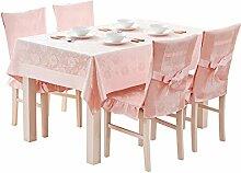 Küche Tischdecke Tischdecke Rectangle, Baumwolle Frische Wohnzimmer Tuch Tischdecke Couchtisch Kleine runde Tisch Tischdecke ( Farbe : 2# , größe : 140*240CM )
