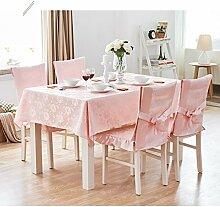 Küche Tischdecke Tischdecke Rectangle, Baumwolle Frische Wohnzimmer Tuch Tischdecke Couchtisch Kleine runde Tisch Tischdecke ( Farbe : 1# , größe : 140*200CM )