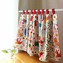 Küche Vorhänge Halben Vorhang Scheibengardine