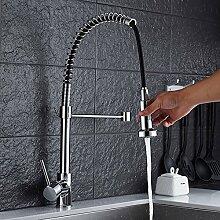 Küche Waschbecken Wasserhahn,Frühling Mit blumen
