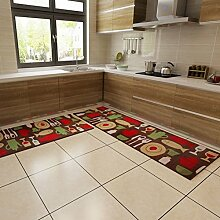 Küche Wasserabsorbierenden Matten/Linear Schiebe-fußmatten/Balkon Bodenmatte/Tür Matten In Der Halle/Wohn-/Schlafzimmer Bett Decke-A 45x120cm(18x47inch)