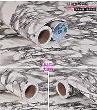 Küche Wasserdicht Und Ölbeständig Selbstklebende Sticker Schränke Arbeitsplatten Marmor Fliesen Renovierung Aufkleber, Typ H 321,60 Cm * 3M