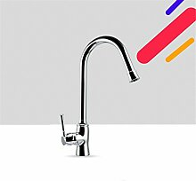 Küche Wasserhahn Kaltwasser Armatur SteckplatzSie können die Mischbatterie drehen,Die Erhöhung der dicken Kupfer