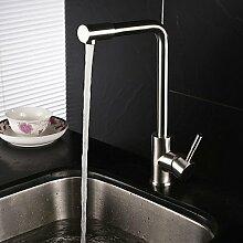 Küche Wasserhahn zeitgenössische Pre spülen Edelstahl gebürste