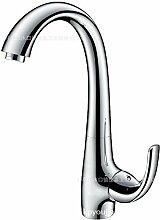 Küche Wasserhahn Zuckerwatte Waschbecken mit warmen und kalten Wasserhahn