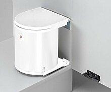 Küchen Mülleimer Badezimmer Abfallsammler 15 Liter Abfalleimer Ausschwenkautomatik *548903