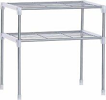 Küchen Organizer, Silber Einstellbare Stahl