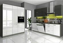 Küchen Preisbombe - Küche Bianca V 240 + 160 cm