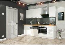 Küchen Preisbombe - Küche Eko White Basic 240cm