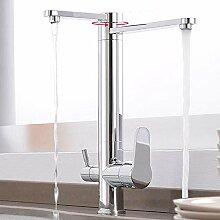 Küchenarmatur 3 Wege Wasserhahn Küche 3 in 1