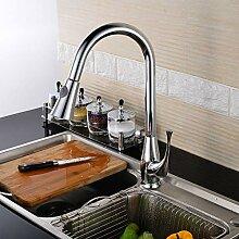 Küchenarmatur 360°Drehbar Küchen Kalt-Warm