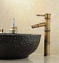 Küchenarmatur antike Waschbecken mitwarmen und
