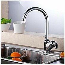 Küchenarmatur Aus Verchromtem Messing Wasserhahn