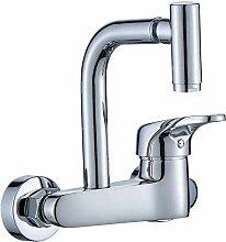 Küchenarmatur Chrom Waschbecken Wasserhahn