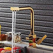 Küchenarmatur/Doppelfunktion 3-Wege-Wasserfilter