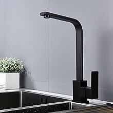 Küchenarmatur Edelstahl 360 Grad drehbaren Kalt-