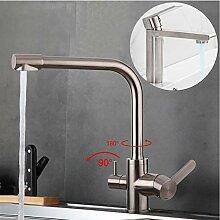 Küchenarmatur Edelstahl Wasserhahn Küchenarmatur