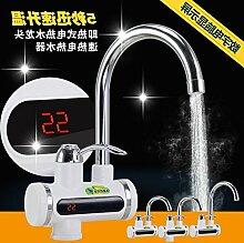 Küchenarmatur Elektrischer Wasserhahn Heißer