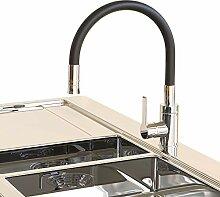 Küchenarmatur flexibel drehbar Wasserhahn mit