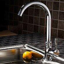 Küchenarmatur Kalt- und Warmwasserspüle Einzelne