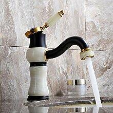 Küchenarmatur Kupfer Weiß Jade Heißer und