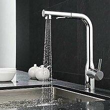 Küchenarmatur mit einziehbarer Dusche Wasserhahn