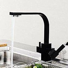 Küchenarmatur mit gefiltertem Wasser 3 Wege