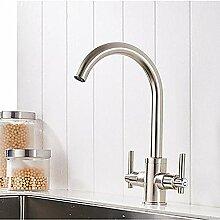 Küchenarmatur Nickelbürste moderner moderner