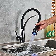 Küchenarmatur ORB LED Küchenarmatur mit