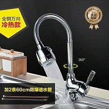 Küchenarmatur Quadratische Rohr Wasserhahn