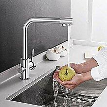 Küchenarmatur Spültischmischer Wasserhahn Chrom