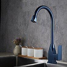 Küchenarmatur,Vertikale Schwarz Wasserhahn