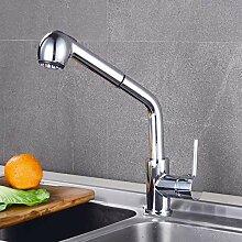 Küchenarmatur/Wasserhahn aus Kupfer, für heiße