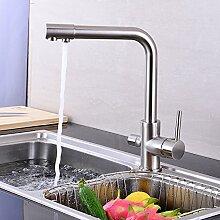 Küchenarmatur Wasserhahn Dual-Spülbrause
