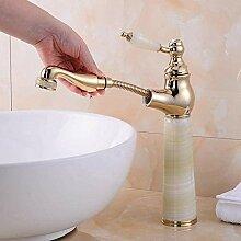 Küchenarmatur Wasserhahn für Waschbecken weiß