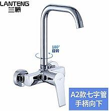 Küchenarmatur Wasserhahn Lan Teng Kupferne