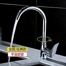 Küchenarmatur Wasserhahn Vierkantwasserhahn