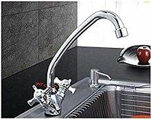 Küchenarmaturen 360 Grad drehbare Wasserhahn