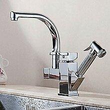 Küchenarmaturen Herausziehen Dusche Sprayer Deck