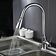 Küchenarmaturen herausziehen Wassermischer