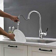 Küchenarmaturen Pull Out 360-Grad-Drehung